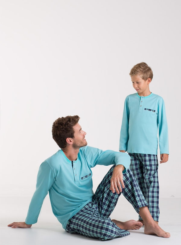 Romeo Baba Oğul Pijama Kombini