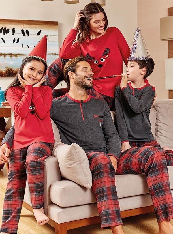 Aile Pijama Kombini