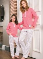 Anne Kız Pijama Takımı - Thumbnail