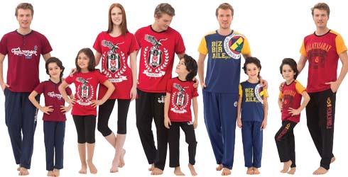 Lisanslı taraftar pijama modelleri