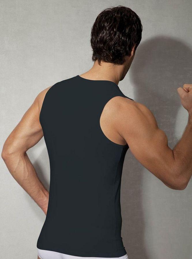 Doreanse V Yaka Likralı Erkek Atlet 2210