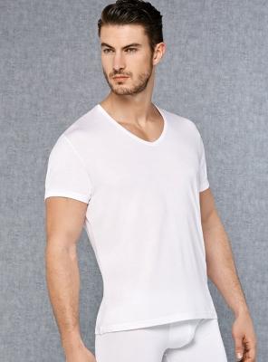 Doreanse - V Yakalı Kısa Kol Erkek T-Shirt 2865