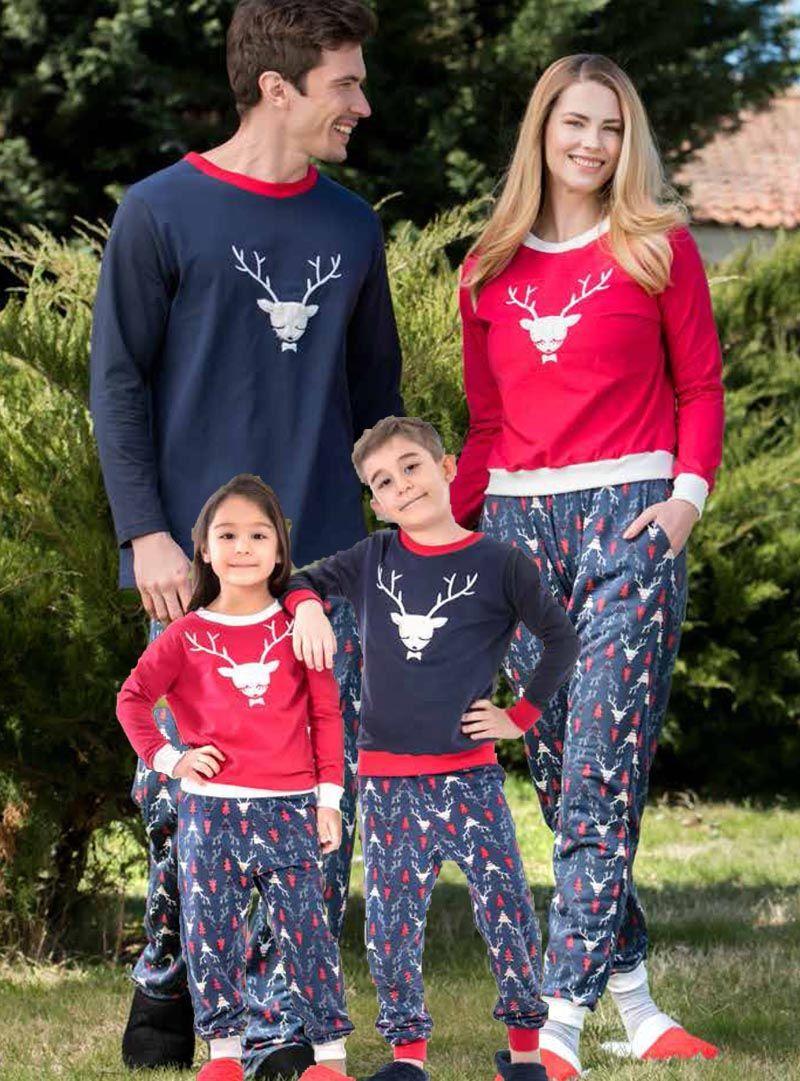 Aile Pijama Takım Kombini