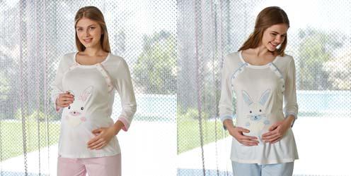 Hamile lohusa pijama modelleri