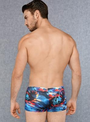 Doreanse - Desenli Strech Erkek Boxer 1741 (1)