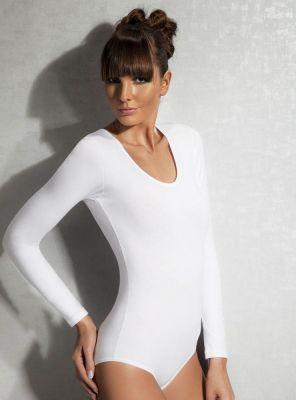 Doreanse - Uzunkol Siyah Bodysuit (1)