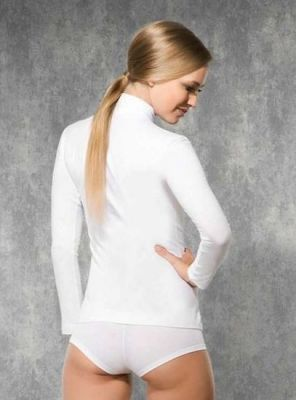 Doreanse - Doreanse Boğazlı Bayan T-Shirt 8510 (1)