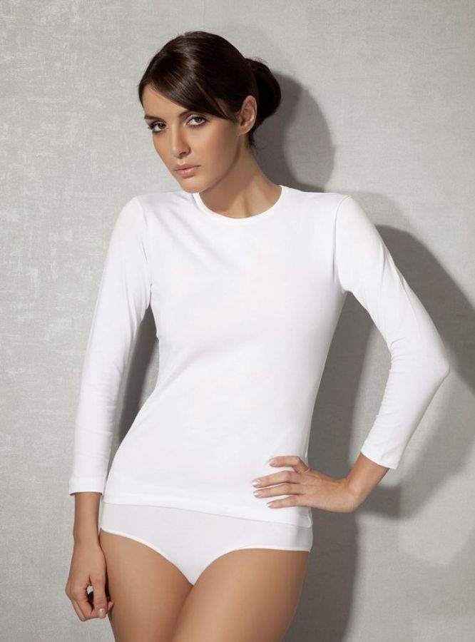 Doreanse Likralı Bayan T-Shirt 8512