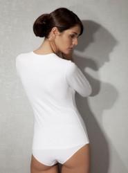 Doreanse - Doreanse Likralı Bayan T-Shirt 8512 (1)