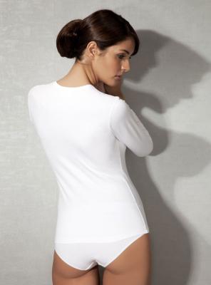 Doreanse - Doreanse V Yaka Bayan T-Shirt (1)