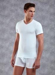 Doreanse V Yaka Erkek T-shirt 2855 - Thumbnail