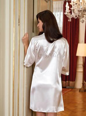 Nurteks - Nurteks 5300 Çeyizlik Bride Sabahlık (1)